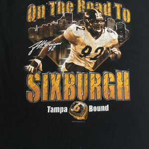 Pittsburgh steelers Tampa bound T shirt Harrison